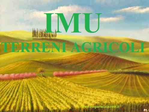 IMU sui terreni agricoli - novità 2014
