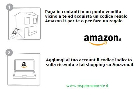 codici di acquisto Amazon