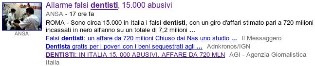 Allarme dentisti abusivi