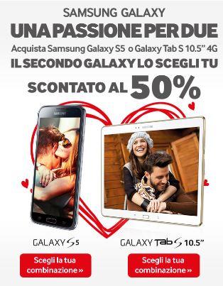 Promozione Galaxy per San Valentino