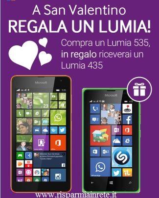Monclick regala un Lumia per San Valentino