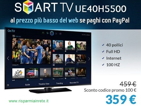 acquista tv samsung