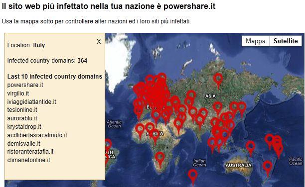 i siti italiani più pericolosi secondo Avast