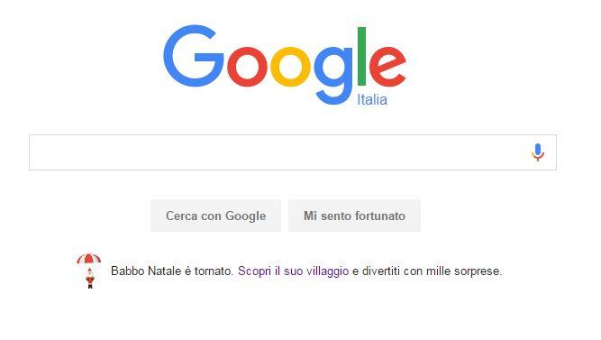 google segui babbo natale