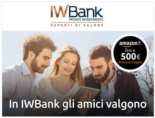 iwbank gli amici valgono Amazon
