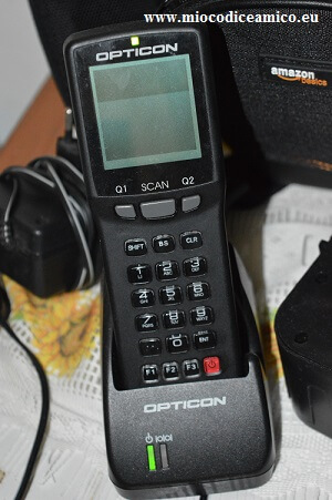 gfk scanner per la raccolta punti