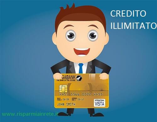 carta di credito illimitata