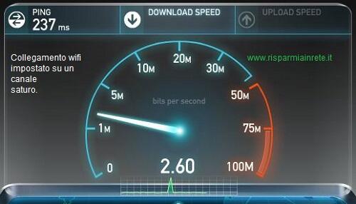 le interferenze wifi diminuiscono la velocità