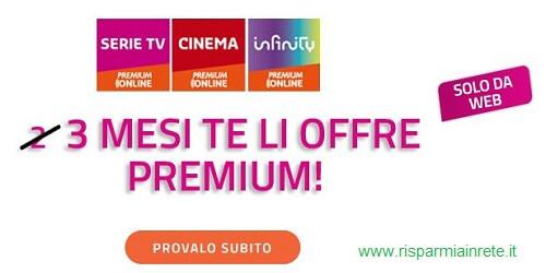 3 mesi gratis premium online