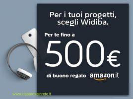 widiba premia con Amazon