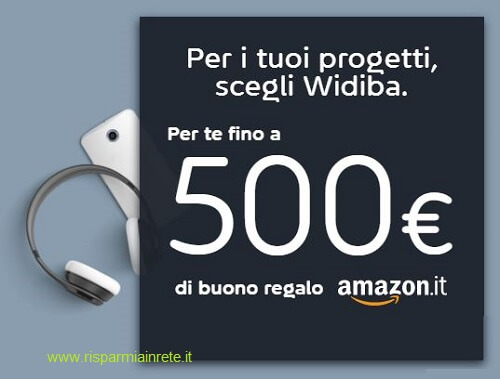 widiba premia con Amazon