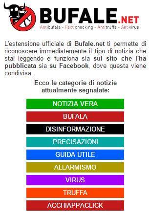 app segnala bufale