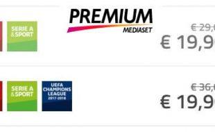 Offerta Mediaset Premium