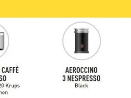 chebanca! regala Nespresso
