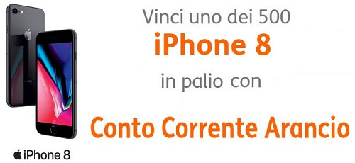 conto corrente arancio iPhone8