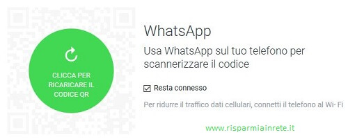come usare whatsapp da browser