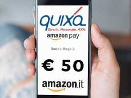 Quixa si paga con Amazon Pay