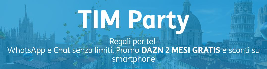 tim party offre DAZN