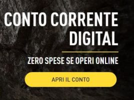 conto corrente digital di CheBanca!