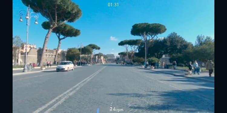 pedalare a Roma